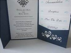 laser cut hearts pocketfold wedding invitations diy pocket fold party invites ebay