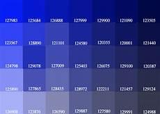 exceline paints blue purple color palette