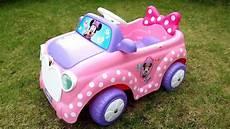 pink minnie mickey mouse ride on walkaround power wheels