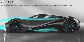 Mercedes C 111 2025 Vision By Alexis Afonso And Yousri Ben