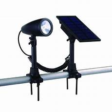duracell solar powered black outdoor led spot light 6 ss3p p4 bk t6 the home depot