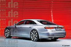 2018 Audi A8 To 6l W12 4l V8 Engines Rendering
