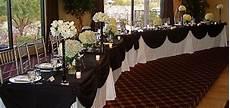 black white head table my tucson wedding