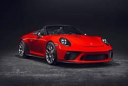 Premiere In Paris New Porsche 911 Speedster Set To Go