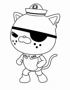 awesome kwazii kitten from the octonauts coloring page download print online coloring pages