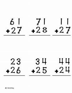 touch math addition adding double digit numbers bundle by s stuff