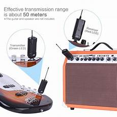 Wireless Audio Transmitter Receiver For Musical Instrument