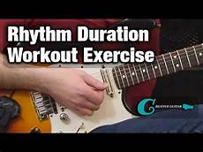 Rhythm Guitar The Duration Workout Exercise
