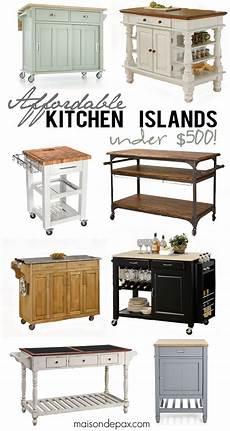 kitchen islands online where to buy affordable kitchen islands maison de pax