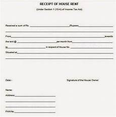 house rent allowance hra receipt format for income tax teacher haryana education news