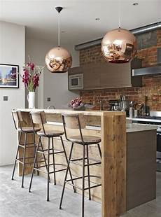 cuisine style bar smart industrial style breakfast bar with copper touches