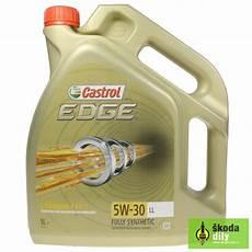 motoröl 5w30 longlife motorov 253 olej castrol edge 5w 30 longlife castrol edtit5w30ll