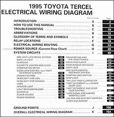 1995 toyota tercel engine diagram 1995 toyota tercel wiring diagram manual original