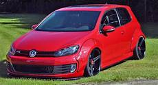 german tuner gives vw golf gti 6 bolt on wheelarches