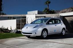 Nissan And GE Unveil New EV Technology That Lets Your
