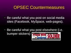 opsec level 1 the question word that describes a time opsec countermeasures michael chesbro des opsec officer ppt powerpoint