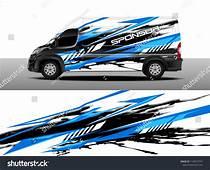 Cargo Van Decal Designs Truck And Car Wrap Vector