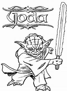 Wars Malvorlagen Malvorlagen Yoda Kostenlos Ausmalbilder