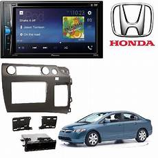 pioneer avh 200ex 2 din 6 2 quot dvd iphone android bluetooth metra 99 7871 2006 honda civic in