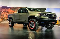 Chevrolet Colorado ZR2 Headed To Production With DSSV