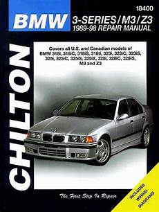 online service manuals 1995 bmw 3 series navigation system bmw 3 series m3 z3 1989 1998 chilton owners service repair manual 0801990963