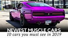 modern muscle cars with performance upgrades that