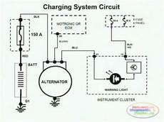wiring diagram car charging system charging system wiring diagram youtube