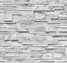 vliestapete stein 3d optik grau wei 223 mauer 02363 30