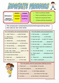 free worksheets on adjectives 18672 indefinite pronouns worksheet free esl printable worksheets made by teachers
