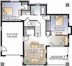 bungalow house plans with walkout basement basement 2 storey northwest style cottage plan 4 bedrooms