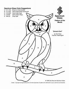 Malvorlage Eule Bunt Stained Glass Patterns For Free 031 Owl Jpg Glasmalerei