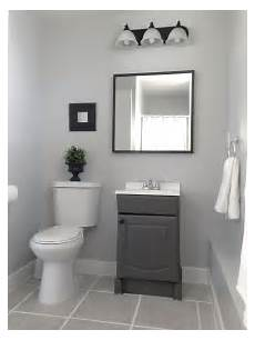 small garage bathroom painted vanity wall behr