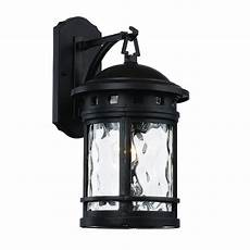 bel air lighting 1 light black outdoor chimney stack wall lantern 40371 bk the home depot