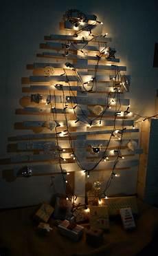 weihnachtsbaum selber bauen diy tree l pallet tree