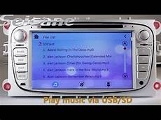 2010 ford transit connect aftermarket radio dvd gps