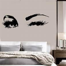 Big Eye Lashes Wink Wall Stickers Beautiful Wallpaper