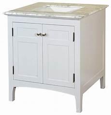 Bathroom Vanities 100 by 29 Inch Single Sink Vanity Wood White Cabinet Only