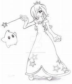 Ausmalbilder Prinzessin Rosalina Princess Rosalina Lineart By Anaisabel22 On Deviantart