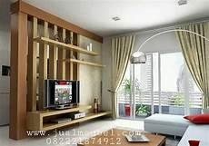 Lemari Rak Tv Model Penyekat Ruangan Keluarga Luxurious