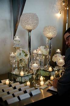 place card table arrangements wedding receptions pinterest crystal ball centerpieces and