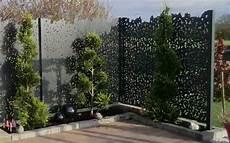 Brise Vue Contemporain Design Jardins Paysagiste Concepteur Murets Pare Vues Et