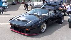 de tomaso pantera black de tomaso pantera 1976 walk around engine