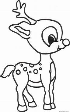 christmas baby reindeer printable coloring pages for kidsfree printable coloring pages for kids