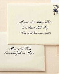 Easy Way To Address Wedding Invitations