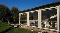 tende per terrazzo impermeabili tende in legno per esterni con progetto verde rimini