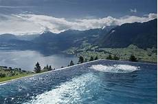schweiz hotel villa honegg this might be the world s most spectacular poolside view