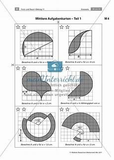 lerntheke zur berechnung kreisteilen fl 228 che umfang