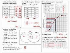 statistics and probability worksheets grade 5 6059 statistics and probability homework or revision worksheets grade 4 to 6 teaching resources
