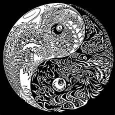 malvorlagen yin yang indonesia amorphi