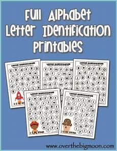 free printable letter recognition worksheets for preschoolers 23701 letter identification printables overthebigmoon letter identification preschool